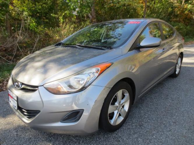 2011 Gray /Gray Hyundai Elantra GLS (KMHDH4AE4BU) with an 1.8L 4CYL engine, Automatic transmission, located at 270 US Route 6, Mahopac, NY, 10541, (845) 621-0895, 41.349022, -73.755280 - Photo #0