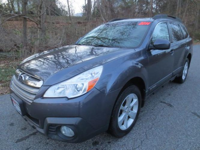 2014 Gray /Black Subaru Outback Premium (4S4BRBDC6E3) with an 2.5L 4CYL engine, Automatic transmission, located at 270 US Route 6, Mahopac, NY, 10541, (845) 621-0895, 41.349022, -73.755280 - Photo #0
