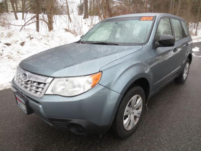 2012 Blue /Gray Subaru Forester X (JF2SHAAC1CH) with an 2.5L 4cyl engine, Automatic transmission, located at 270 US Route 6, Mahopac, NY, 10541, (845) 621-0895, 41.349022, -73.755280 - Photo #0