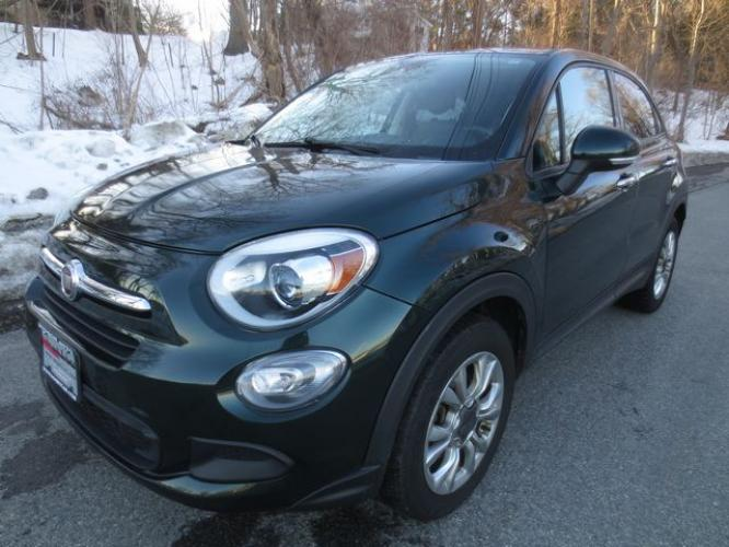 2016 Green Fiat 500x Easy Sport (ZFBCFYBT7GP) , Automatic transmission, located at 270 US Route 6, Mahopac, NY, 10541, (845) 621-0895, 41.349022, -73.755280 - Photo #0