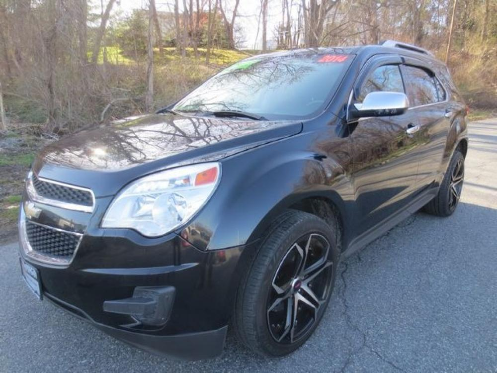 2014 Black /Black Chevrolet Equinox LT (2GNFLFEK2E6) with an 2.4L 4cyl engine, Automatic transmission, located at 270 US Route 6, Mahopac, NY, 10541, (845) 621-0895, 41.349022, -73.755280 - Photo #0