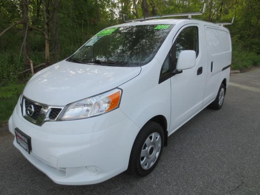 2015 White /Gray Nissan Cargo SV (3N6CM0KN0FK) with an 2.0L 4cyl engine, Automatic transmission, located at 270 US Route 6, Mahopac, NY, 10541, (845) 621-0895, 41.349022, -73.755280 - Photo #0